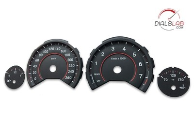 3D BMW F3x dials - From MPH to km/h conversion
