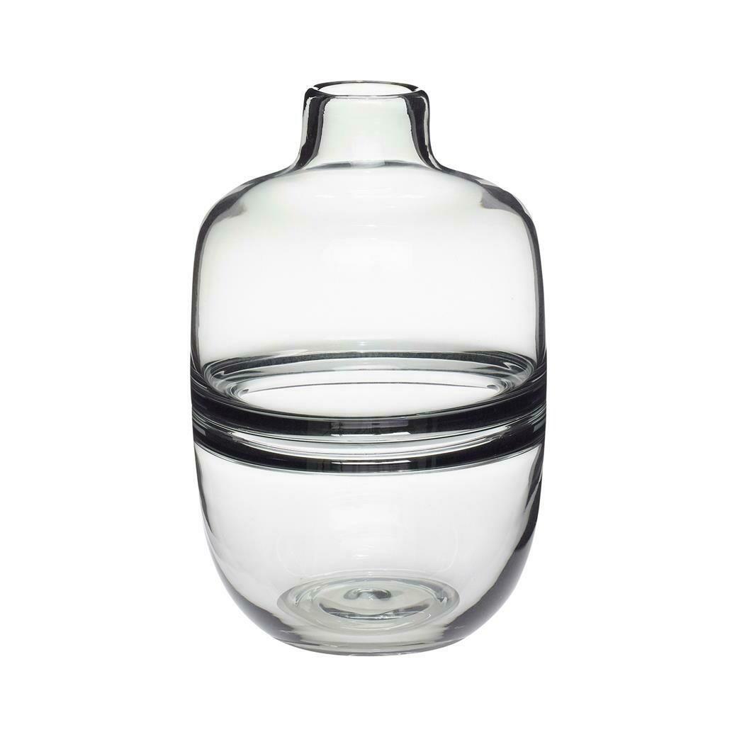 GLASS VASE - SMOKED