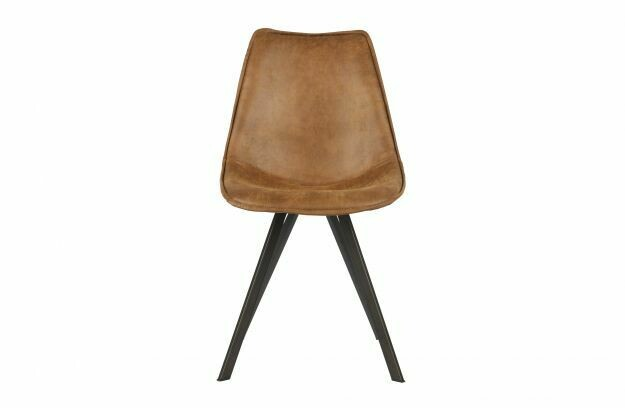 Swen dining chair cognac