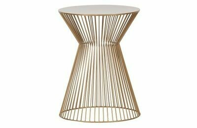Suus sidetable metal gold