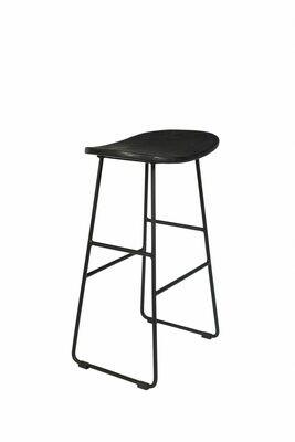Tangle counter stool black