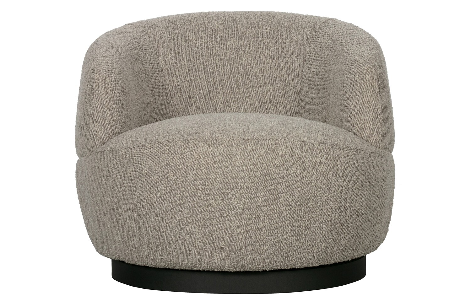 Woolly rotation armchair natural mix