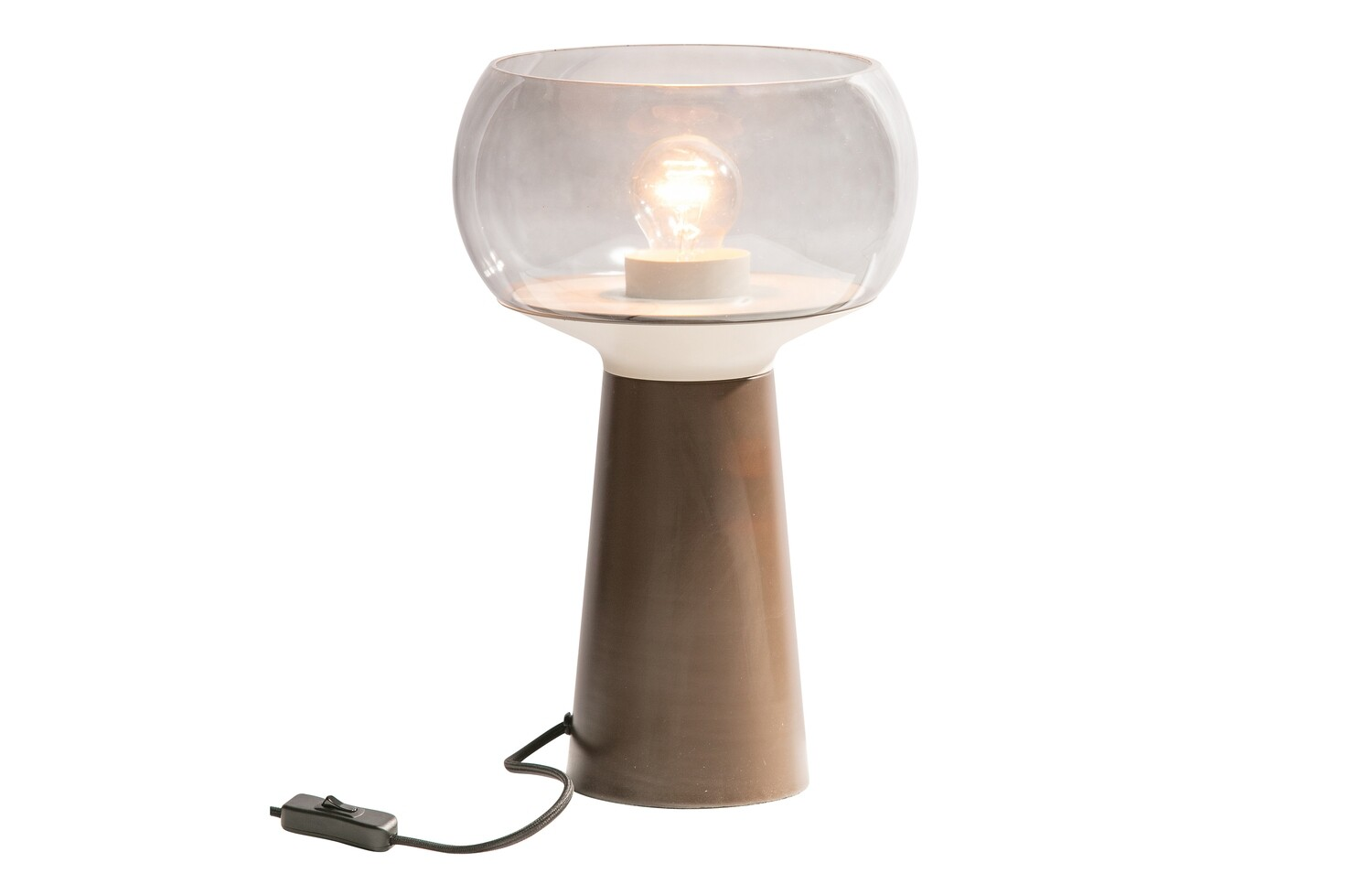 Mushroom table lamp coffee