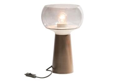 Mushroom table lamp coffee