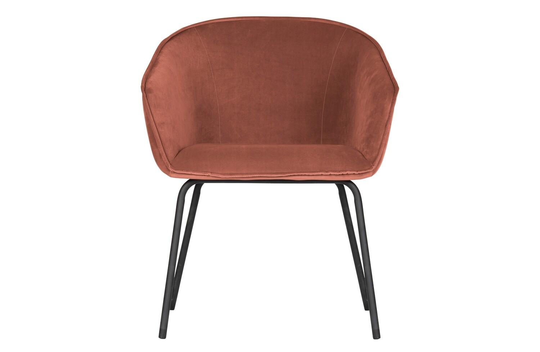 Sien dining chair velvet raspberry