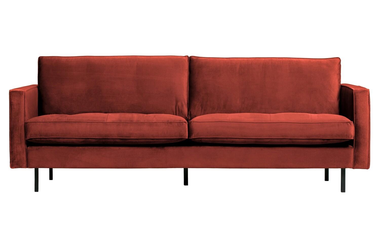 Rodeo classic sofa velvet chestnut