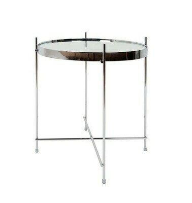 Side table Cupid silver