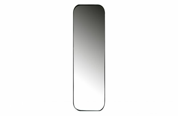 Doutzen mirror metal black