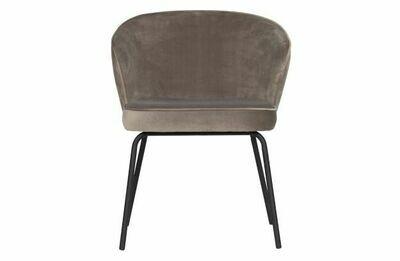Admit dining chair velvet khaki