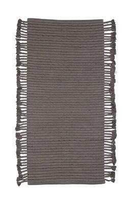 Mink rug cotton anthracite
