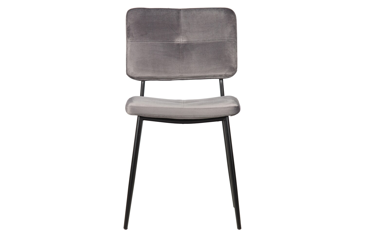 Kaat dining chair velvet anthracite