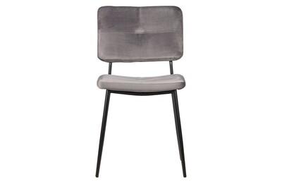 Kaat dining chair velvet anthracite
