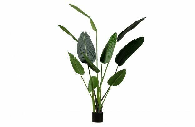 Strelitzia artificial plant green