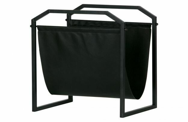 Zeta magazine rack metal black