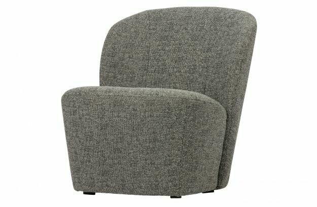 Lofty armchair grey mix