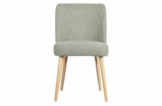 Force dining chair bouclé grey