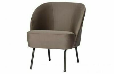 Vogue velvet armchair