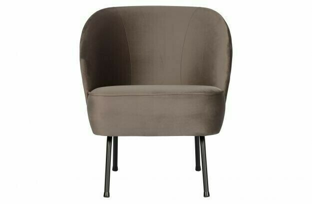 Vogue velvet armchair