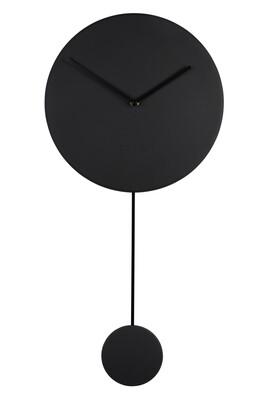 Clock Minimal Black