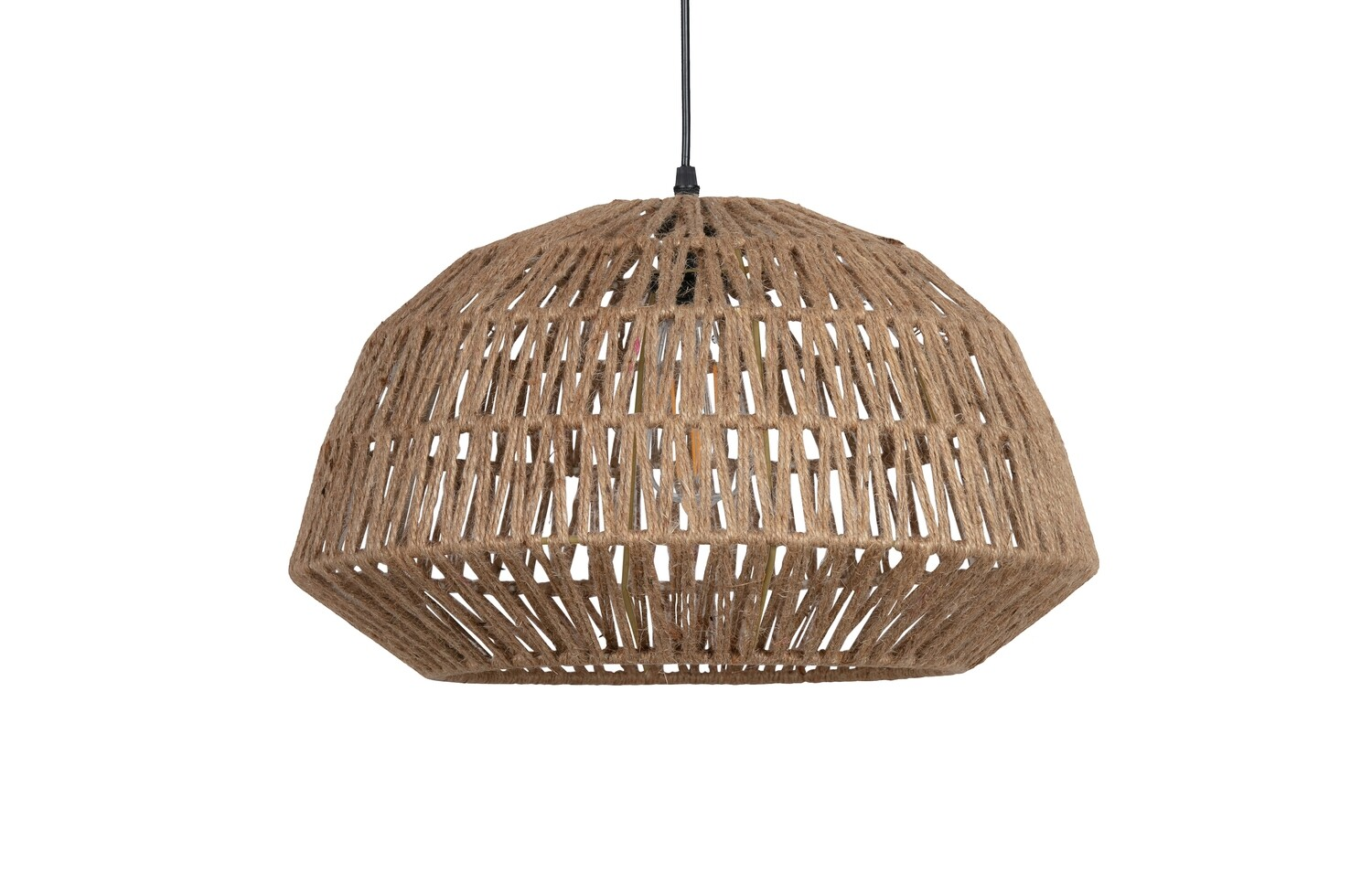 KACE HANGING LAMP JUTE NATURAL Ø45CM