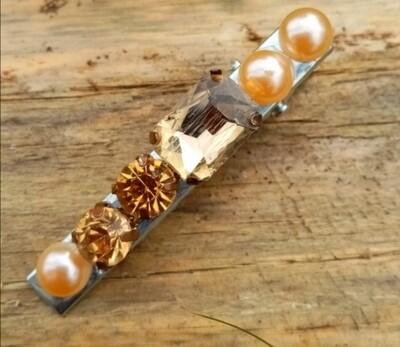 Set Hairpins Glass & Rock