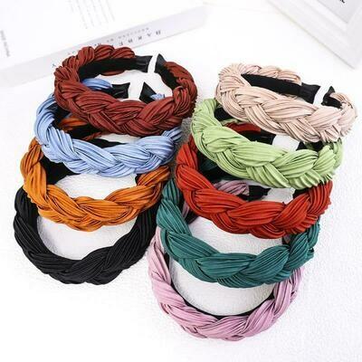 Spring Braided Headbands