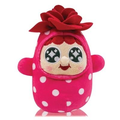 """QQ Tumbler 7"""" Keychain Plush doll - Rose (7吋QQ 玫瑰不倒翁毛公仔)"""