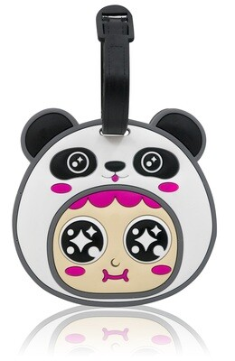 QQ Tumbler Luggage Tag - Pan (行李牌 - 熊猫)