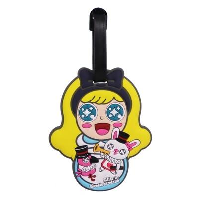 QQ Tumbler Luggage Tag - Alice (行李牌- 玫瑰愛麗斯)