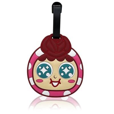 QQ Tumbler Luggage Tag - Girl (行李牌- 玫瑰)