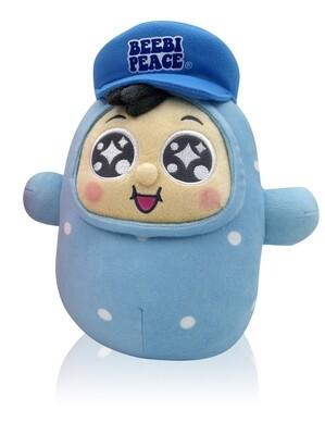 """QQ Tumbler 10"""" Plush doll - QQ Boy (10吋QQ仔不倒翁毛公仔)"""