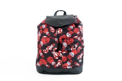 Beebipeace Backpack (Big) - Rose Tumbler(背包-玫瑰不倒翁 - 大)