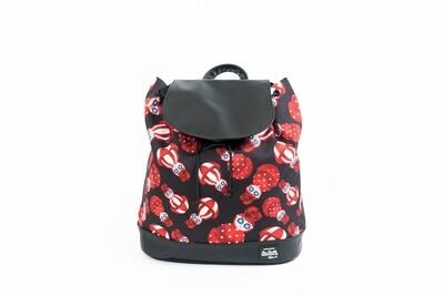 Beebipeace Backpack (Medium) - Rose Tumbler(背包-玫瑰不倒翁 - 中)