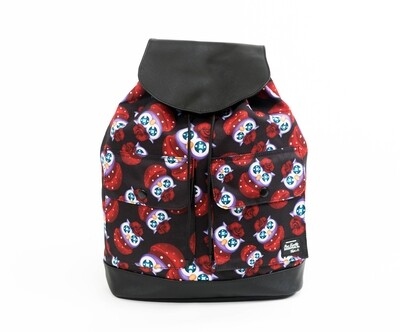 Beebipeace Backpack (Big) - Owl(背包 - 玫瑰貓頭鷹 - 大)