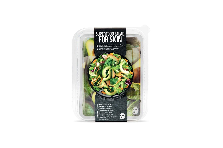 Superfood Salad Facial Sheet 7 Mask Set (Avocado)