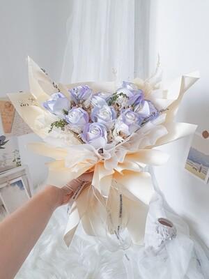 9 Aurora Soap Rose Bouquet