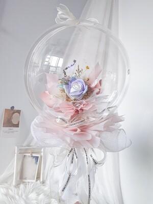 Aurora Soap Rose Balloon Bouquet