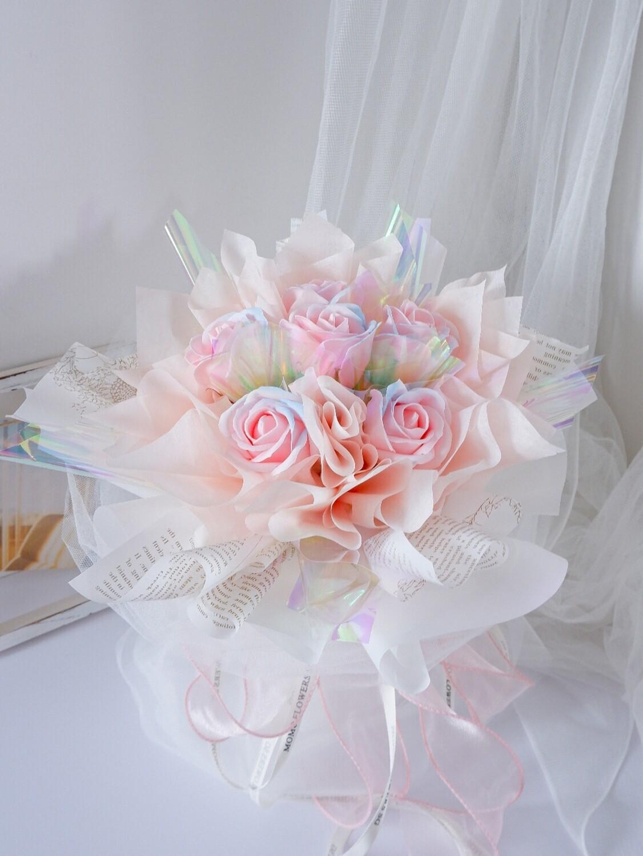 6 Mermaid Rose Bouquet