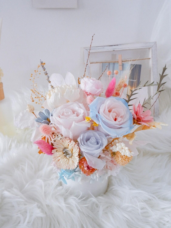 Blue & Pink Vase