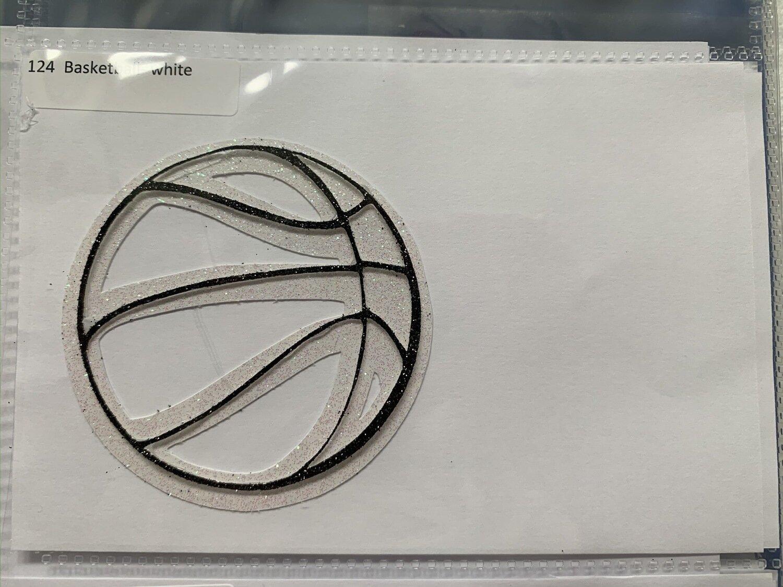 Basketball- white