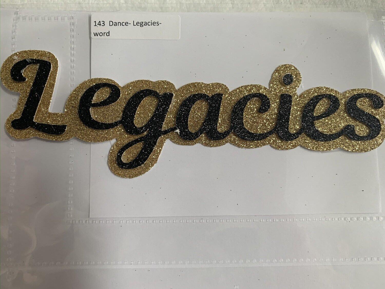 Dance- Legacies- word