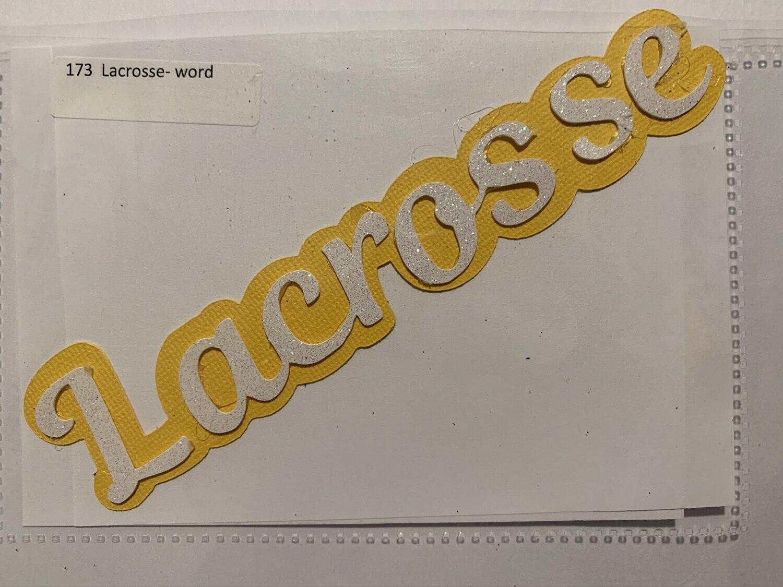 Lacrosse- word