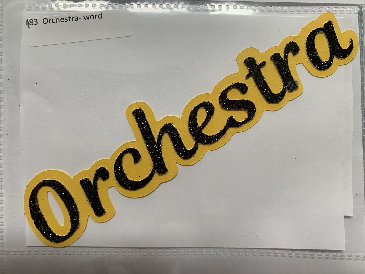 Orchestra- word