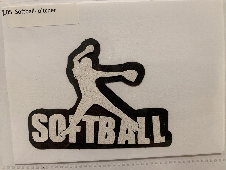 Softball- pitcher