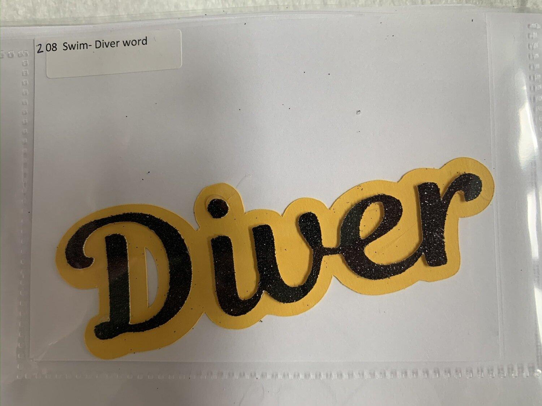 Swim- Diver word