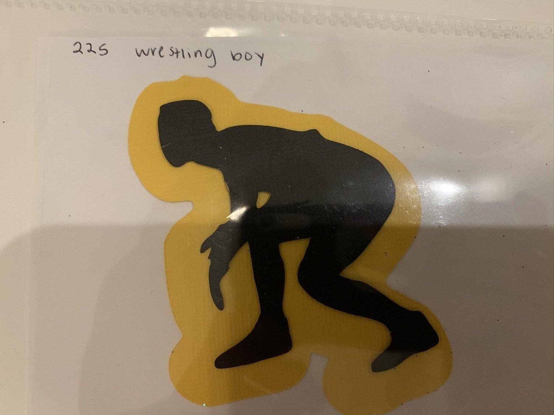 Wrestling- boy