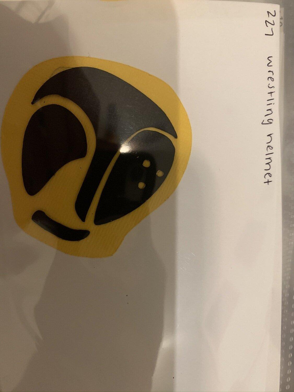 Wrestling- helmet