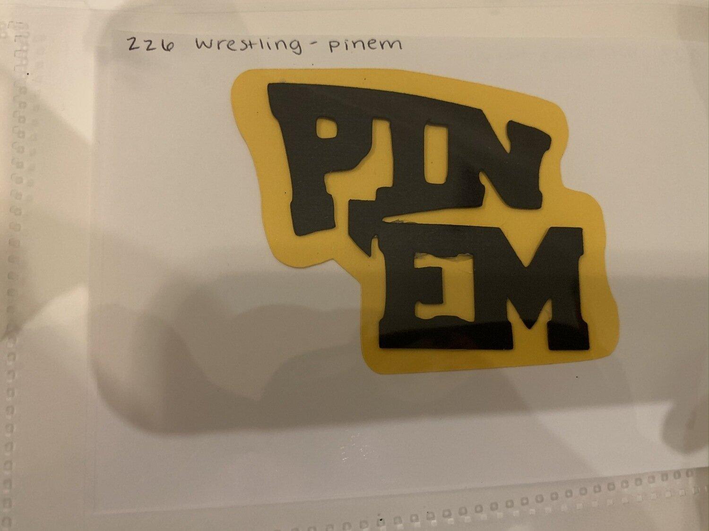 Wrestling- pin em