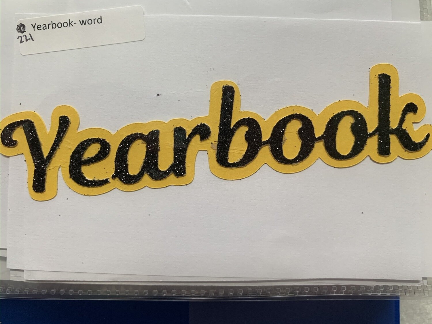 Yearbook- word