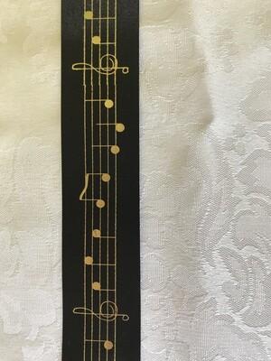 Music scale ribbon